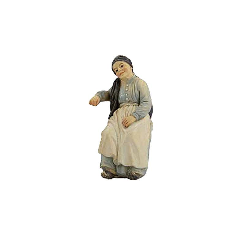 Kg11-4.9b Oude vrouw / Grootmoeder