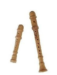 p-hh33: Muziekinstrument - Blokfluit