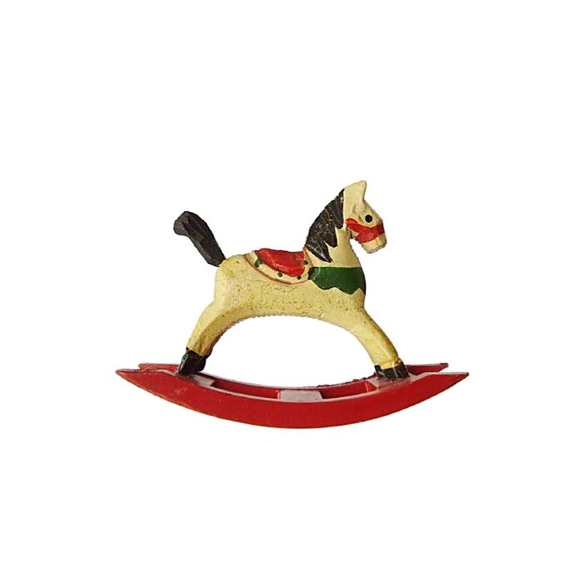 p-ks-1b: Speelgoed 'Hobbelpaard' 8cmH