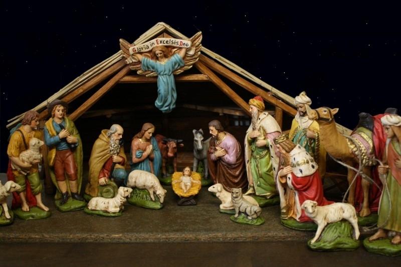 Krst- N03: Kerstbeelden Hns 17 cm