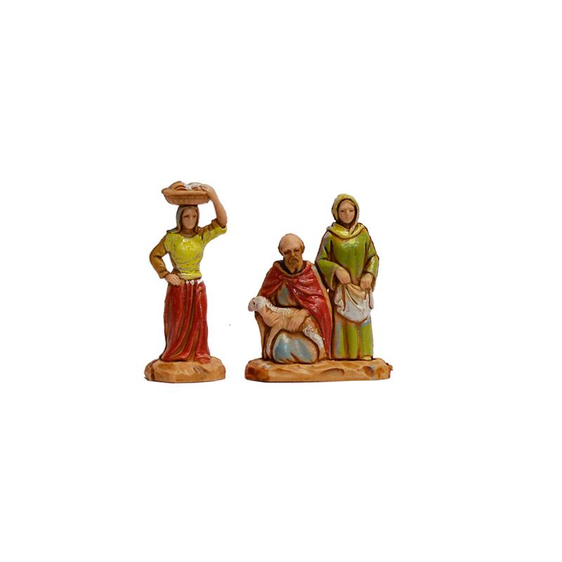 Kg-3.5-4: Drie figuren (2 dlg)