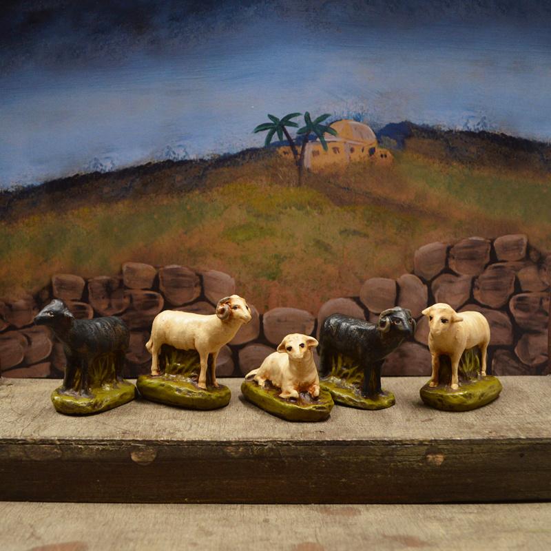 Schapen 1.3:  voor ca. 14 cm figuren