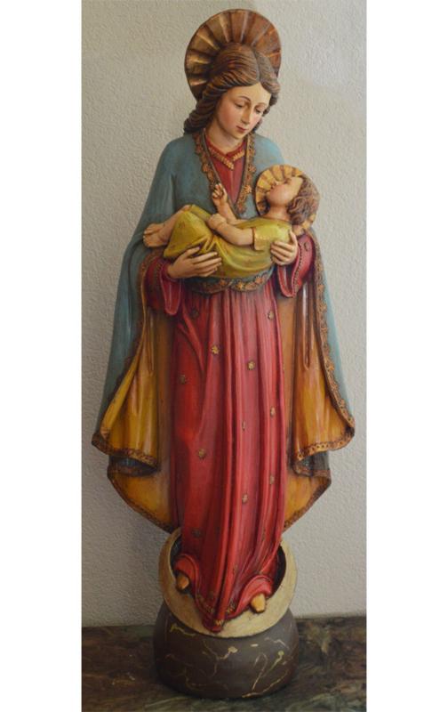 Mb-18: Mariabeeld met Kind 83 cmH