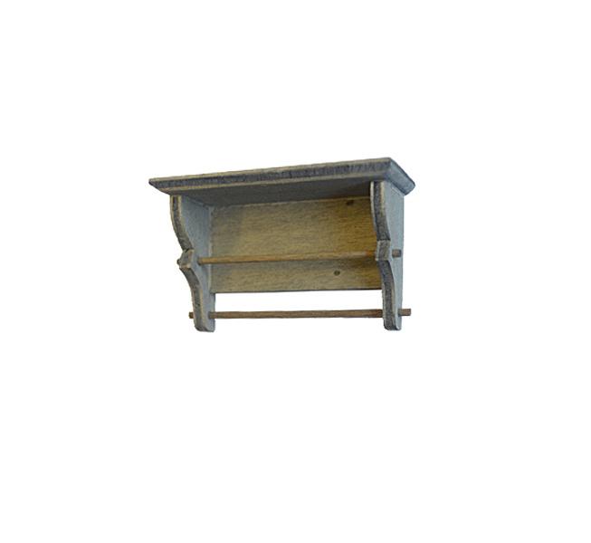 Mbl-302: Keukenplank met 2 stokken (Hout)