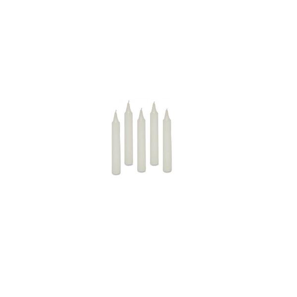 p-k012: Mini Kaarsjes (5 stks)