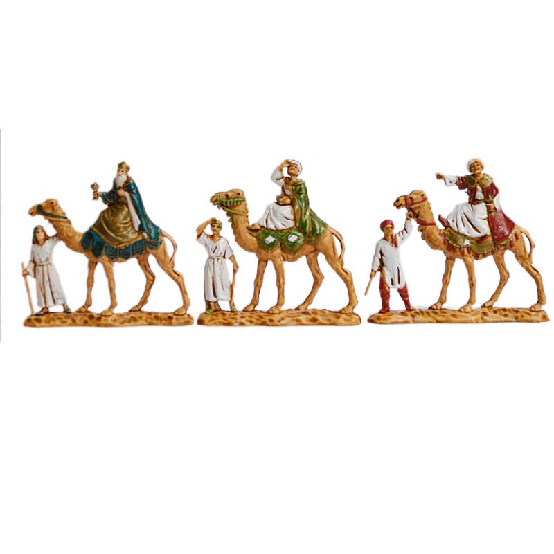 Kg-3.5-07b: Drie Koningen op kamelen (3 dlg)