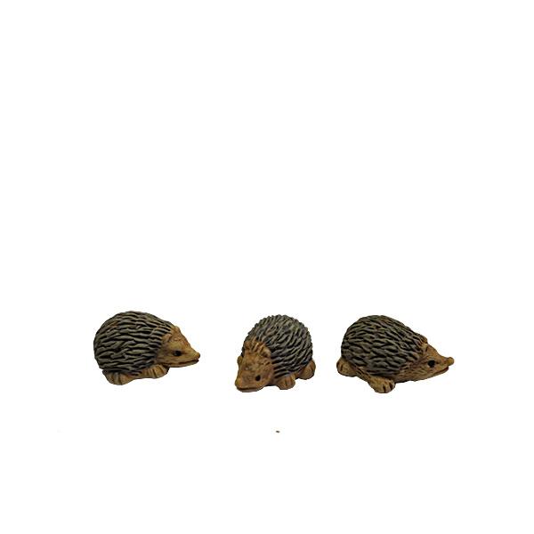 Dd-04.1a Egeltjes (setje 3 stks)