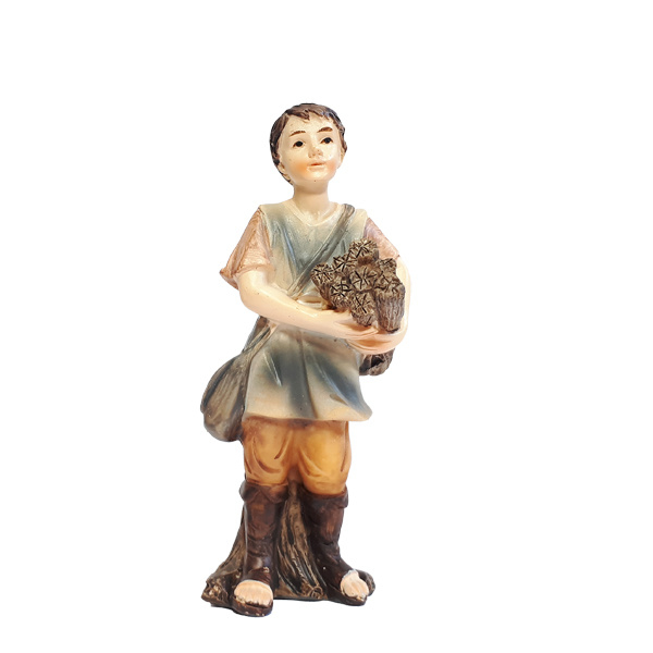 Kg9-11 Jongen met hout