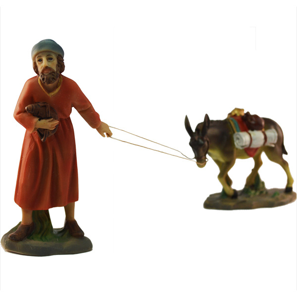 Kg11-6.22 Herder met ezel (2 dlg)