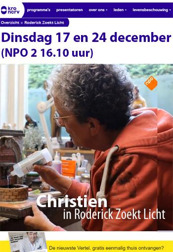 Christien in Roderick Zoekt Licht