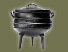 Südafrikanischer Potjie - 3-Bein-GussTopf - Gr. 6