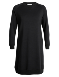 Icebreaker Womens Lydmar Dress / Black- Small