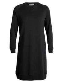 Icebreaker Womens Lydmar Dress / Black- Small