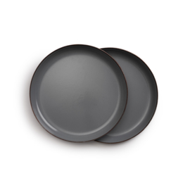 Barebones Enamel Cookware - Borden / Plates  - Geëmailleerd - 2x