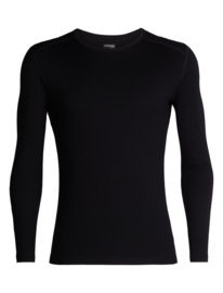 Icebreaker 	Mens 260 Tech LS Crewe / Black - M-L