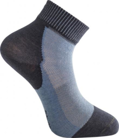 Woolpower NIEUW Skilled Liner Socks Short Nordic Blue/Dark Navy