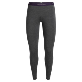 Icebreaker 	Wmns 200 Zone Leggings / Jet HTHR/Lotus -Small