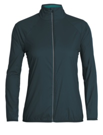 Icebreaker Wmns Rush Windbreaker / Nightfall/Arctic Teal - Small