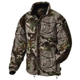 Pinewood Fleece Jacke Nordkap Kids Realtree - Art 9985