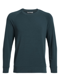 Icebreaker mens Momentum LS Crewe  /Nightfall - Medium
