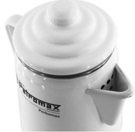 Petromax koffie Percolator - wit/zwart