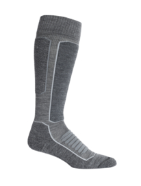 Icebreaker Ski over the calf medium cusion/Gritston HTHR /Black - S-M-L