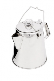 GSI 14 Cup Glacier RVS Conische Koffie Percolator
