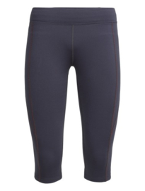 Icebreaker Wmns Comet 3Q Tights / Monsoon/POPPYRED - Small