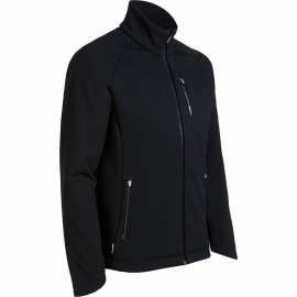 Icebreaker Mens Teton Zip M  Black -Medium