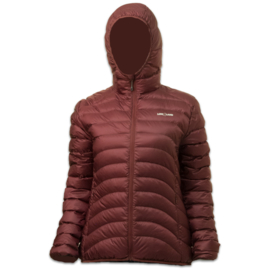 LOWLAND OUTDOOR® OPTIMUM DONS - PLUM - WOMAN - HOODY - alle maten