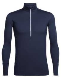 Icebreaker Mens Incline LS Half Zip /  Midnight Navy -Medium