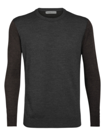 Icebreaker Men Shearer Crewe Sweater / Char Hthr - M-L