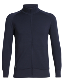 Icebreaker Mens Lydmar LS Zip / Midnight Navy - L-XL