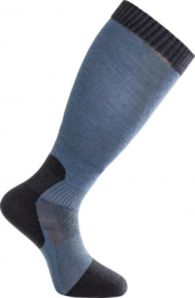 Woolpower NIEUW Skilled Liner Knee High Nordic Blue/Dark Navy