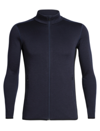 Icebreaker Mens Elemental  LS Zip / Midnight Navy -Xlarge