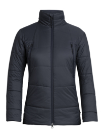 Icebreaker Womens Hyperia Zoned Jacket / Midnight Navy - Small