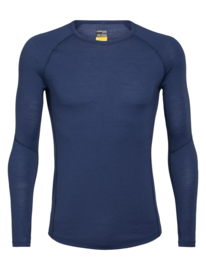 Icebreaker Mens BODYFITZONE 150 Zone LS Crewe /  Estate blue - S-XXL