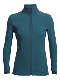 Icebreaker Wmns Dia Soft Shell Jacket Harmony - Small