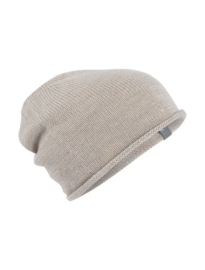Icebreaker Muts Crush Beanie Fawn Heather - One Size