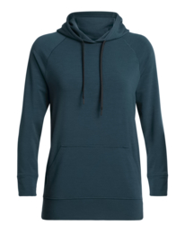 Icebreaker 	Wmns Momentum Hooded Pullover / Nightfall - Small