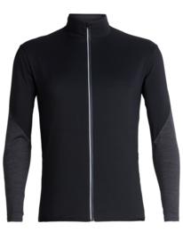 Icebreaker  Mens  Tech Trainer Hybrid Jacket / Black - Medium