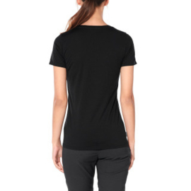 Icebreaker 	Wmns Tech Lite SS Scoop Glacial Retreat / Black -Small