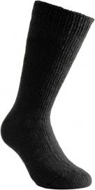 Woolpower Sokken 800 - zwart - grey melange - dark navy