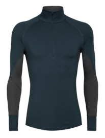 Icebreaker Mens 260 Zone LS Half Zip / Nightfall - S-XL