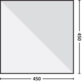 Nigor Parawing - Tarp - 450 x 450 cm Ripstop Polyester - Zand