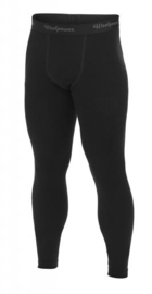 WOOLPOWER LITE Long Johns -  Zwart - Pine Green