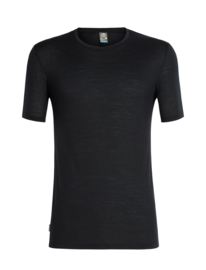 Icebreaker Mens Elements (Solace) SS Crewe / Black -Medium