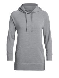 Icebreaker 	Wmns Momentum Hooded Pullover / Fossil - M-L-XL