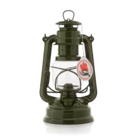 Feuerhand stormlantaarn 26 cm (olielamp) - OLIJFGROEN