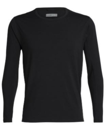 Icebreaker Men Vultaic LS Crewe / Black - Medium